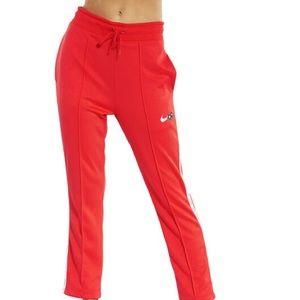 Red nike pants